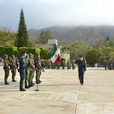 Toma posesión el nuevo comandante de la 31ª Zona Militar en Chiapas