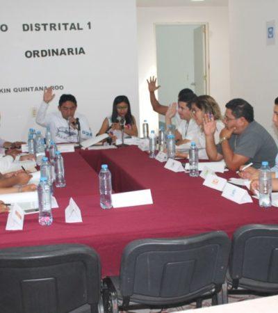 Representantes de partidos políticos se ausentan de sesiones del Ieqroo en el Distrito 1 por falta de interés