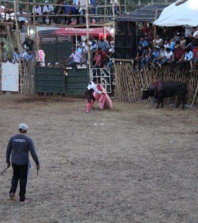 En José María Morelos, autoridades buscan rescatar e impulsar las corridas de toros