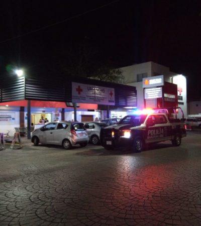 Sujeto golpeado asegura haber escapado de secuestro en Cancún