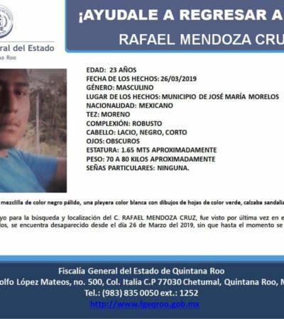 Padre denuncia desaparición de sus dos hijos en José María Morelos