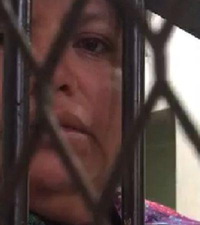 VIDEO | Golpean y detienen a mujer indígena tzotzil en Chiapas acusada de adulterio; clama ayuda