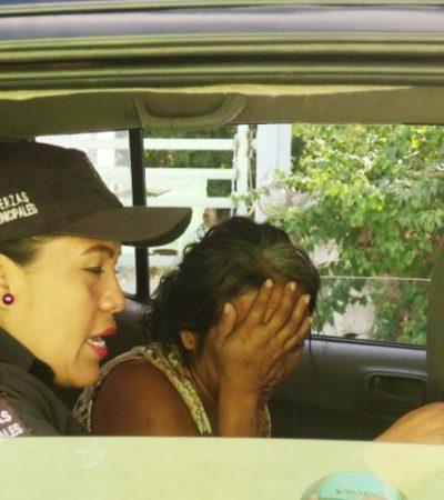 Rescatan de la calle a dos menores en Hunucmá, Yucatán; su madre los abandona para drogarse