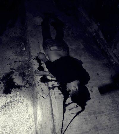OTRA EJECUCIÓN EN EL 'BABY HOT': Matan de un balazo en la nuca a un hombre afuera de un bar en Playa del Carmen