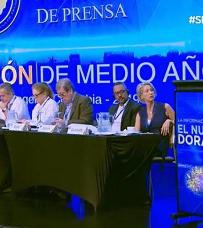 Empeora situación de la prensa en México con AMLO, según la Sociedad Interamericana de Prensa