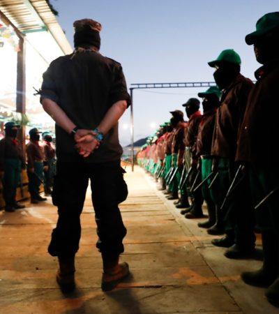 Reiteran CNI, CIG y EZLN críticas al gobierno federal; no hay transformación sino exterminio, acusan