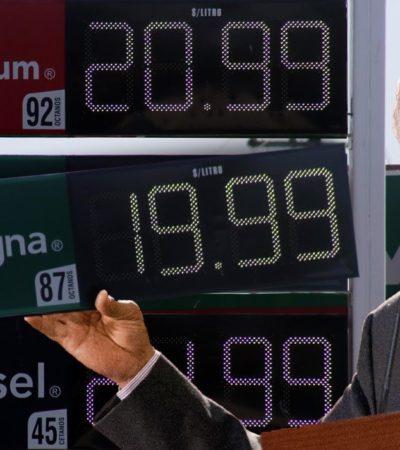 Debuta estímulo fiscal a la gasolina Magna en el Gobierno de AMLO