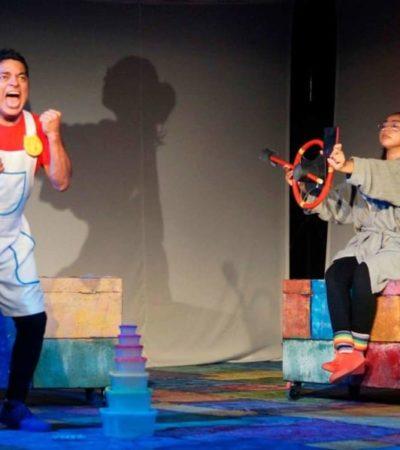La obra 'De niños, peces y otros monstruos lunáticos' busca más público en QR
