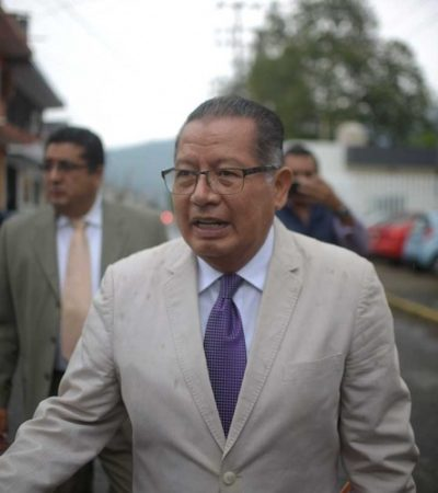 Exoneran a Flavino Ríos, exgobernador interino de Veracruz;  lo acusaban de haber permitido la fuga de Javier Duarte