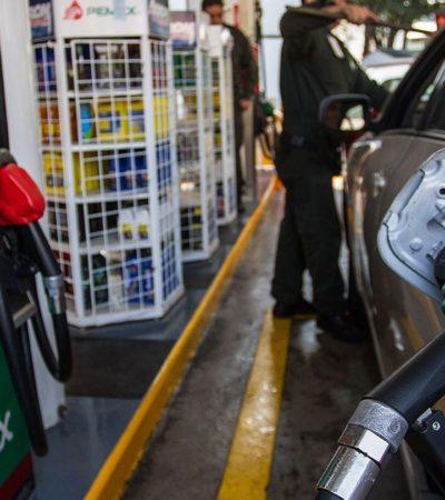APLICA AMLO PRIMER 'MINI-MINI' ESTÍMULO FISCAL A LA GASOLINA MAGNA: A partir de este viernes, los consumidores deberían pagar 0.094 pesos menos por litro