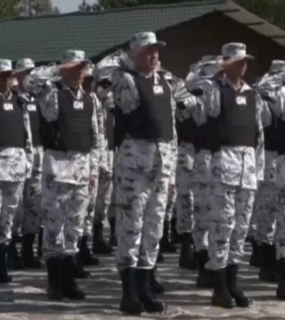 PUNTO PARA AMLO: Declara Congreso constitucional la reforma que crea la Guardia Nacional