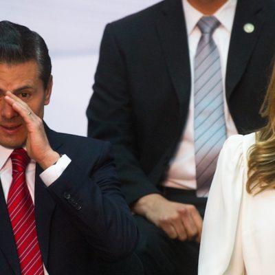 Trasciende que Angélica Rivera exige a Peña 35 autos de lujo y 12 años de vuelos privados para firmar divorcio