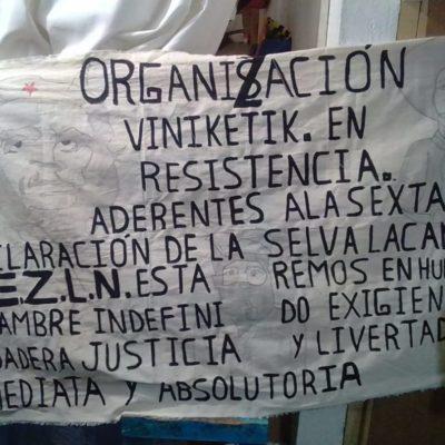 Inician huelga de hambre seis indígenas en tres penales de Chiapas; exigen ser liberados de inmediato