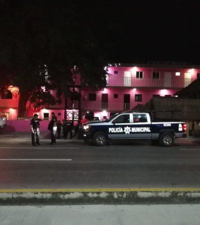 Hieren a balazos a una persona en un hotel de Playa