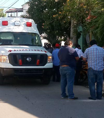 En el día de la Mujer, atropellan a una mujer en Chetumal