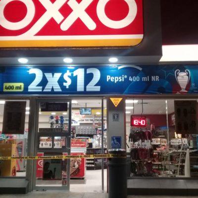 Asaltan un Oxxo en Chetumal
