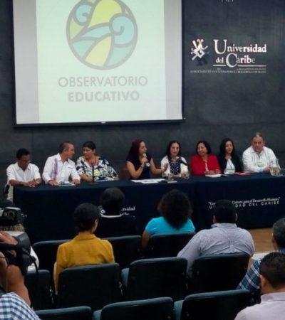 Crean Observatorio Educativo para mejor calidad y estrategias de la educación en QR