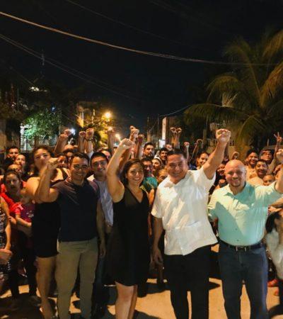Se registra Ismael Sauceda como candidato del partido MAS por el Distrito IX