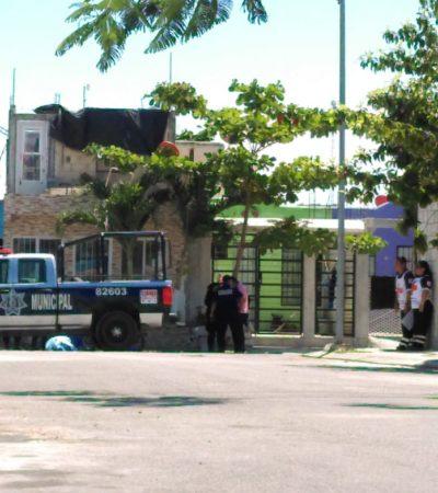 ACUDE A COBRAR Y LE QUITAN LA VIDA A BALAZOS: Matan a empleado de una empresa en la puerta de un domicilio en Villas del Sol de Playa del Carmen