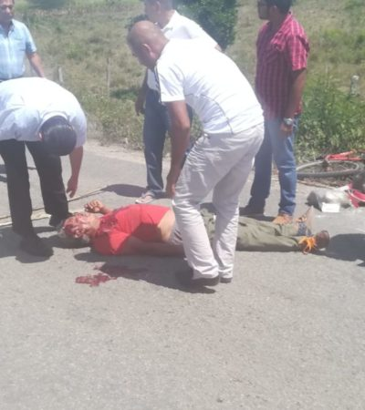 Atropellan a persona de la tercera edad en Chetumal y huyen