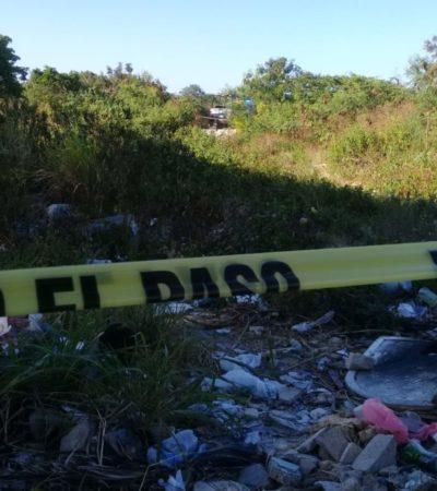 OTRO EJECUTADO EN CANCÚN: Encuentran cuerpo de un sujeto con varios impactos de bala en la Región 247