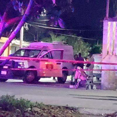 CAMINABAN CON SU HIJA EN CARRIOLA CUANDO LOS TIROTEARON: Disparan contra una pareja en la Región 234 de Cancún; muere la mujer, el hombre queda herido; la bebé, ilesa