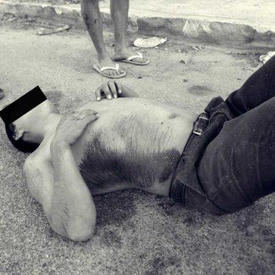 Le pasan la llanta y matan a una persona en Playa del Carmen