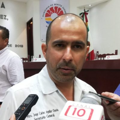 """""""Tardanza en resolución de la concesión del transporte público en Cancún, mantiene parado al ayuntamiento"""", dice Jorge Aguilar Osorio"""