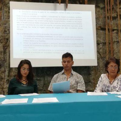 La asociación civil Moce Yax Cuxtal enviará carta a AMLO para solicitar intervención urgente en el manejo integral de las costas