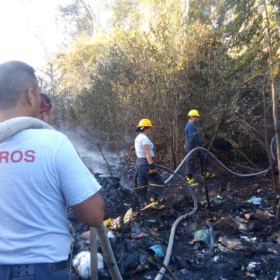 Conato de incendio en el basurero de Chetumal