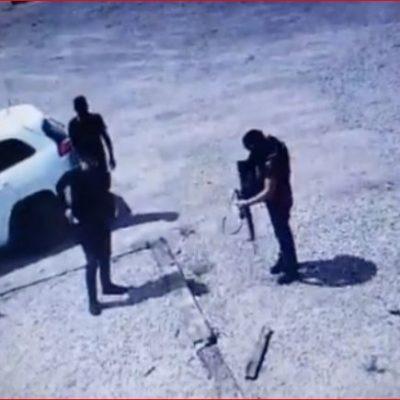 VIDEO | Irrumpe comando armado en rancho del suegro de la gobernadora de Sonora