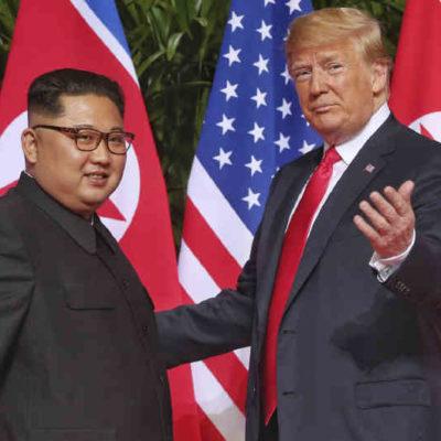 Sorprende Trump con anuncio de que retirará sanciones a Corea del Norte; funcionarios corrigen la plana