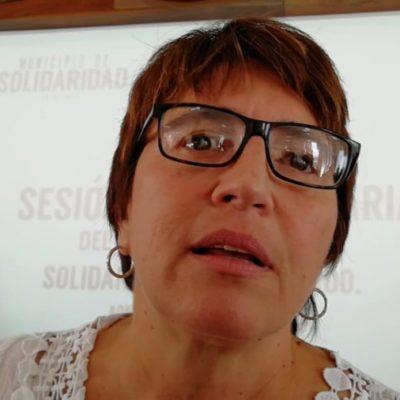 """""""ES UNA TRAGEDIA"""": Afirma Laura Beristain que no se bajará la guardia, tras asesinato de comandante en Playa del Carmen"""
