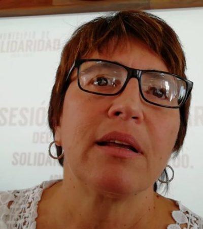 Rompeolas: 'Se hacen bolas' en Solidaridad en materia de seguridad