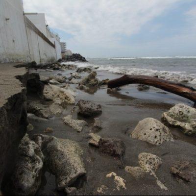 Amenaza cambio climático a playas de Veracruz; 51 por ciento han sido ya devoradas por el mar
