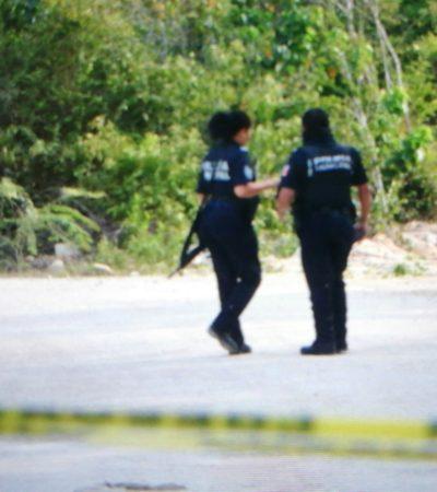 SEGUNDO EJECUTADO DEL DÍA EN PLAYA: Hallan con el tiro de gracia a otro hombre por la zona de Villas del Sol