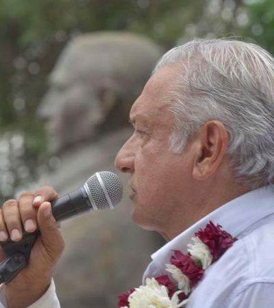 Participará AMLO en conmemoración del natalicio de Benito Juárez ante indígenas molestos en Guelatao