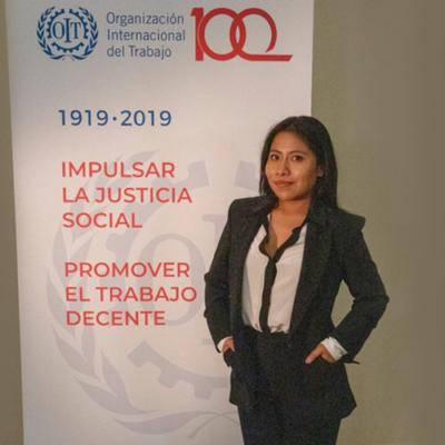 Participará Yalitza Aparicio como oradora de la OIT en Suiza por el Día Internacional de la Mujer