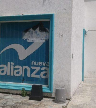 El partido Nueva Alianza deja deuda de 212 mil pesos al SAT e INE en Quintana Roo