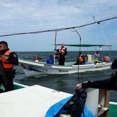 Arrestan a pescadores furtivos en aguas yucatecas