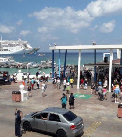 """Cozumel y Miami serán """"puertos hermanos"""", anuncia Alicia Ricalde, titular de Apiqroo"""