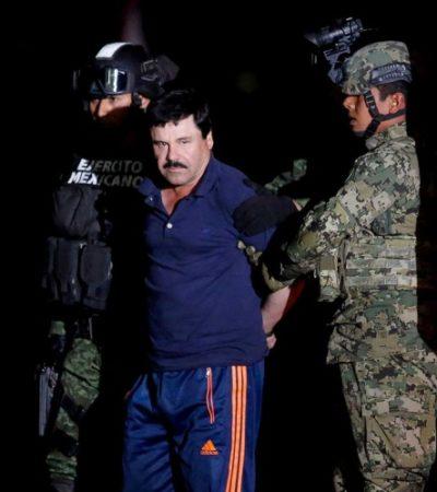 Desecha SCJN amparo para repatriar a 'El Chapo'