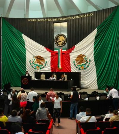 Avala Congreso de Quintana Roo creación de una guardia nacional con mando civil