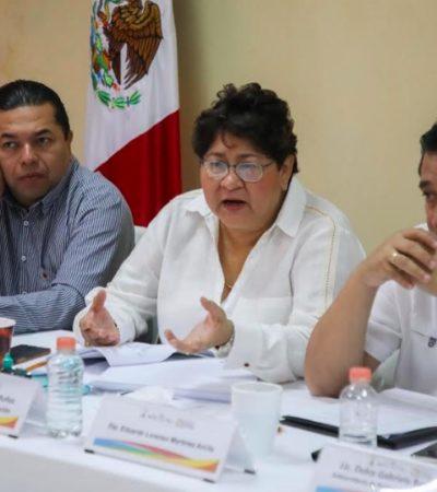 SE REÚNEN DIPUTADOS CON TITULAR DE SEFIPLAN: Discuten propuestas sobre Ley de Alcoholes, Ley de Derechos y presupuesto para la Fiscalía General del Estado