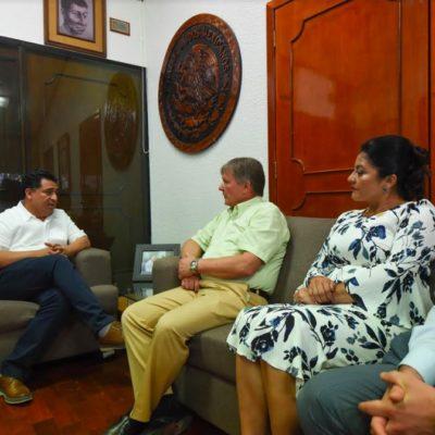 Realiza embajador de Rusia en México visita al Congreso de Quintana Roo
