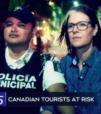 ¿TURISTAS CANADIENSES EN RIESGO?: Transmitirá televisora CTV de Canadá programa especial sobre la violencia en Cancún y la Riviera Maya | VIDEO
