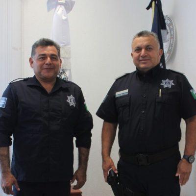 SÓLO AGUANTO CUATRO DÍAS EN EL CARGO: De manera repentina, renuncia Sidley Loeza Pérez al mando de la Policía Municipal Preventiva en Solidaridad; un teniente, Baltazar Díaz Acosta, lo sustituye