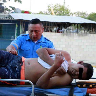'Tablean' a un hombre y lo abandonan en la zona turística de Playa del Carmen