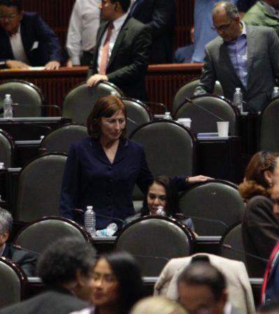 MILITANTES A SACAR LA CARTERA: Busca Morena reducir a la mitad financiamiento a partidos