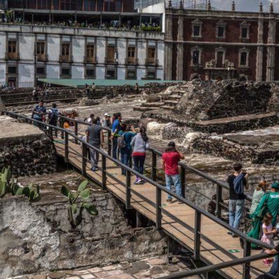 TENOCHTITLÁN AÚN GUARDA SECRETOS: Hallazgo de 'un tesoro' de sacrificios aztecas apunta a tumba de emperador